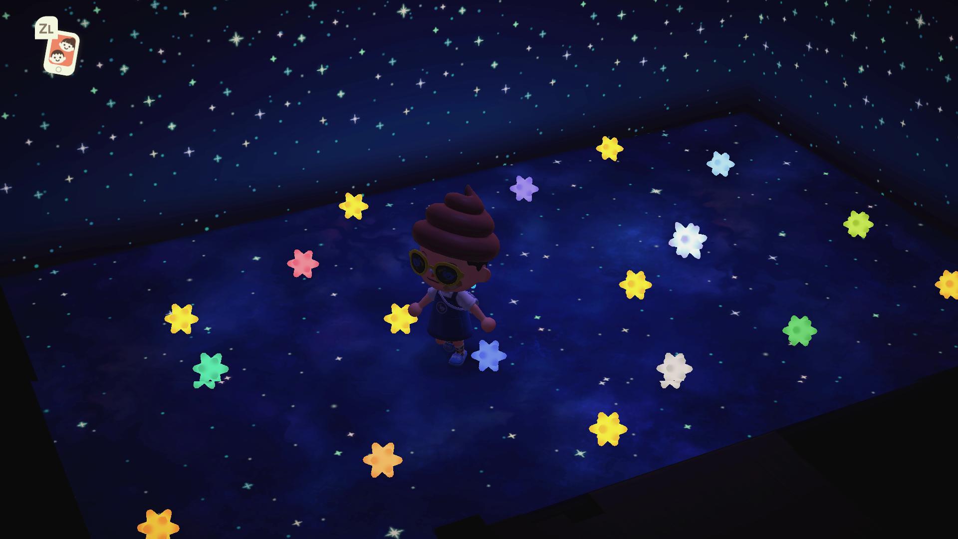 の カケラ あつ 大きな 森 星